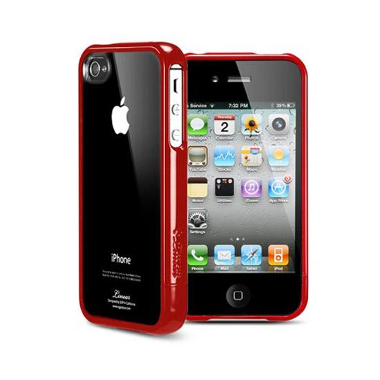 สติ๊กเกอร์ไลน์ชุด SPIGEN SGP iPhone 4 / 4S Case Linear Crystal Serie