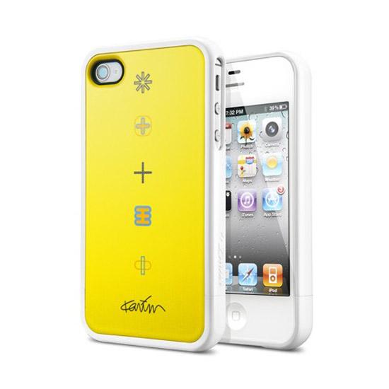 สติ๊กเกอร์ไลน์ชุด SPIGEN SGP iPhone 4 / 4S Linear Collaboration Kari