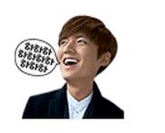 สติ๊กเกอร์ไลน์ ลีมินโฮ Sticker line Lee Min-Ho