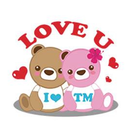 สติ๊กเกอร์ไลน์ชุด Tianmu Bear