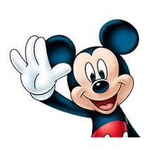 สติ๊กเกอร์ไลน์ชุด Mickey Mouse: trademark Smile
