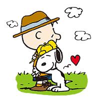 สติ๊กเกอร์ไลน์ชุด Snoopy Day Out (Pretz)