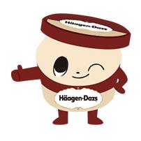 สติ๊กเกอร์ไลน์ชุด Haagen-Dazs: Dazs and Friends