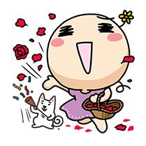 สติ๊กเกอร์ไลน์ชุด Wan Wan (Happy Together)