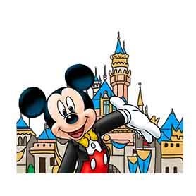 สติ๊กเกอร์ไลน์ชุด Disney Theme Park