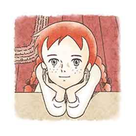สติ๊กเกอร์ไลน์ชุด Anne of Green Gables
