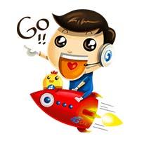 สติ๊กเกอร์ไลน์ชุด Chunghwa Telecom Baby Special