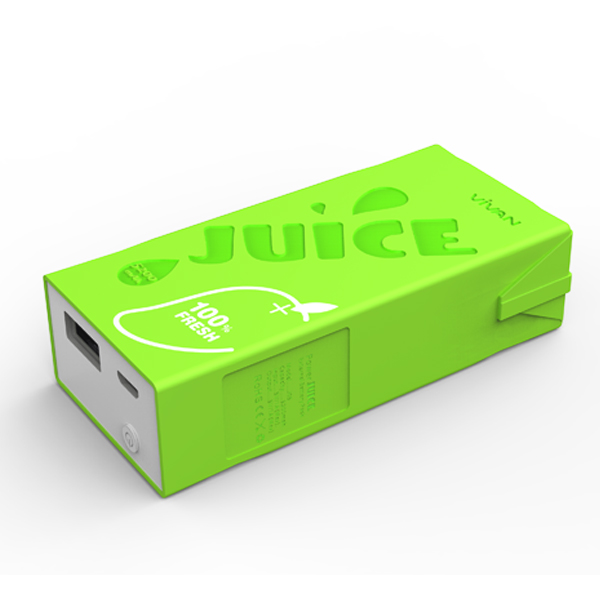 สติ๊กเกอร์ไลน์ชุด Power Bank 5200 mAh (สีเขียว)