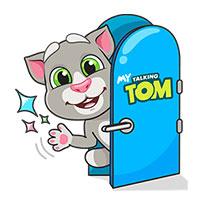 สติ๊กเกอร์ไลน์ชุด Talking Tom