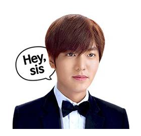 สติ๊กเกอร์ไลน์ชุด สติ๊กเกอร์ไลน์ลีมินโฮ Lee Min Ho's
