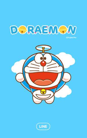 สติ๊กเกอร์ไลน์ชุด Doraemon (ธีมไลน์โดเรมอน)