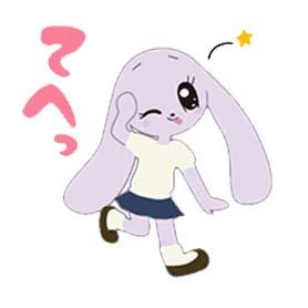 สติ๊กเกอร์ไลน์ชุด Logy the Rabbit
