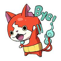 สติ๊กเกอร์ไลน์ชุด YO-Kai Watch Daily Edition
