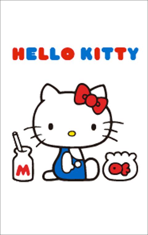 สติ๊กเกอร์ไลน์ชุด Hello Kitty (ธีมไลน์คิตตี้)