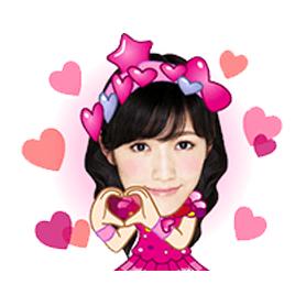 สติ๊กเกอร์ไลน์ชุด AKB48