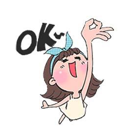 สติ๊กเกอร์ไลน์ชุด Toki Choi's Happy Life!
