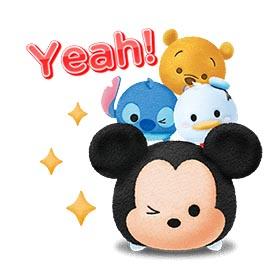 สติ๊กเกอร์ไลน์ชุด LINE: Disney Tsum Tsum