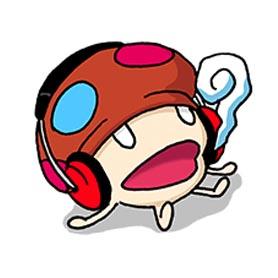 สติ๊กเกอร์ไลน์ชุด DJ Dake