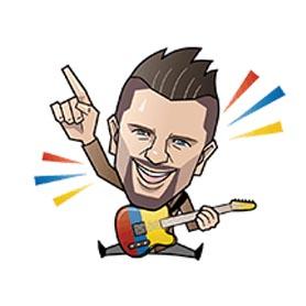 สติ๊กเกอร์ไลน์ชุด Juanes