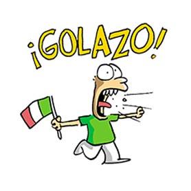 สติ๊กเกอร์ไลน์ชุด EI Mundial de Trino