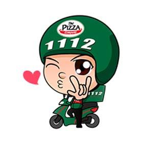 สติ๊กเกอร์ไลน์ชุด 1112 Delivery Boy