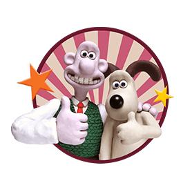 สติ๊กเกอร์ไลน์ชุด Wallace & Gromit