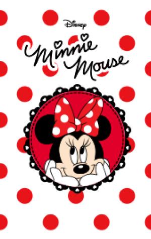 สติ๊กเกอร์ไลน์ชุด ธีม Minnie Mouse