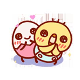 สติ๊กเกอร์ไลน์ชุด TAMAHIYO Animated Stickers