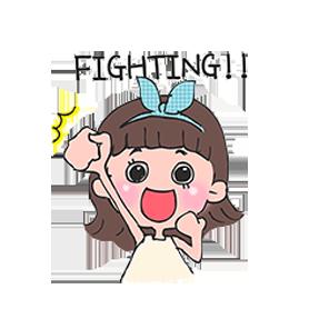 สติ๊กเกอร์ไลน์ชุด Toki Choi's Fighting Life!