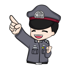 สติ๊กเกอร์ไลน์ชุด We are baby police !!