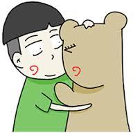สติ๊กเกอร์ไลน์ชุด คนอะไรเป็นแฟนหมี  Beargirlfriend Love Story