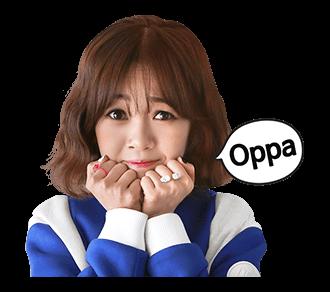 สติ๊กเกอร์ Kim Bo Mi Oppa
