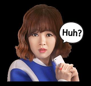 สติ๊กเกอร์ Kim Bo Mi Huh?