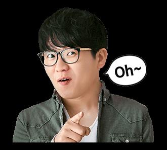 สติ๊กเกอร์ Kim Kang Hyun Oh