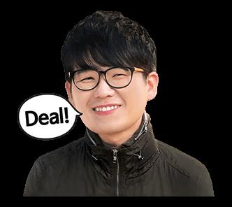 สติ๊กเกอร์ Kim Kang Hyun Deal!