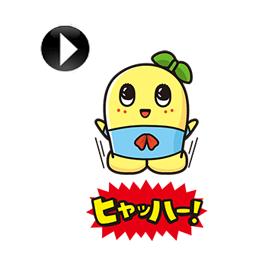 สติ๊กเกอร์ไลน์ชุด funassyi Animated Stickers