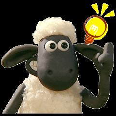 สติ๊กเกอร์ไลน์ชุด Shaun the Sheep Animated Stickers