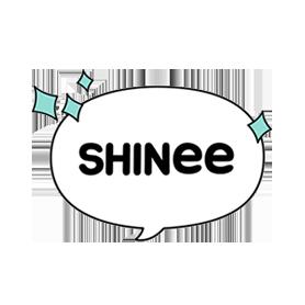 สติ๊กเกอร์ไลน์ชุด SHINee Special