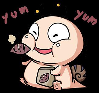 หอยทากน่ารัก สึมุริง หม่ำๆ