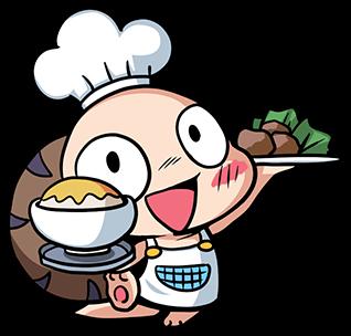 หอยทากน่ารัก สึมุริง ทำอาหาร