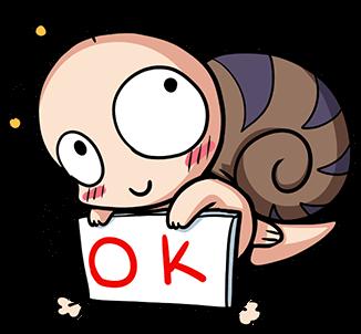 หอยทากน่ารัก สึมุริง OK
