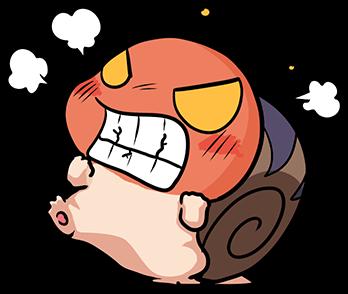 หอยทากน่ารัก สึมุริง โกธร