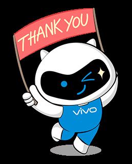 vivo ขอบคุณ