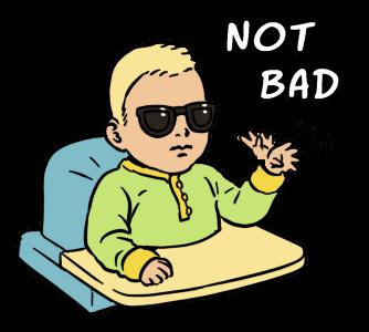 Sticker Sunglasses Baby