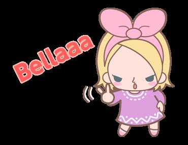 สติกเอร์ไลน์ La Pina Bellaaa