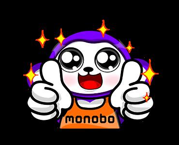สติกเกอร์ไลน์ Monobo & Monokids เยี่ยมมาก