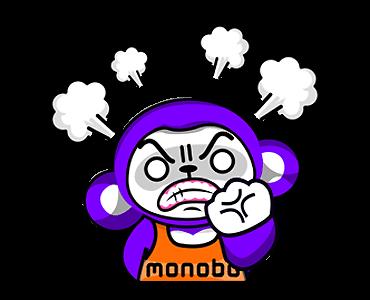 สติกเกอร์ไลน์ Monobo & Monokids หึหึ
