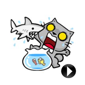 สติ๊กเกอร์ไลน์ชุด Meow Zhua Zhua - Part.2