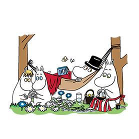 สติ๊กเกอร์ไลน์ชุด Moomin