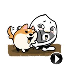 สติ๊กเกอร์ไลน์ชุด RiceMan - Animated Life